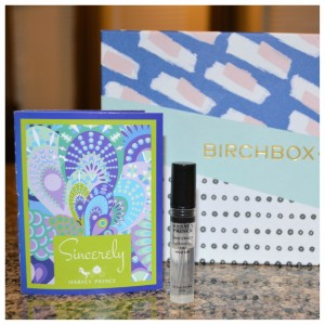 March Birchbox Harvey Prince Sincerely Fragrance Sample