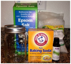 DIY Bath Salt Ingredients