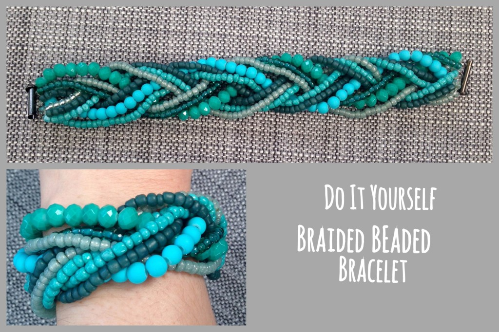 Diy Beaded Braided Bracelet Runaway Teacher
