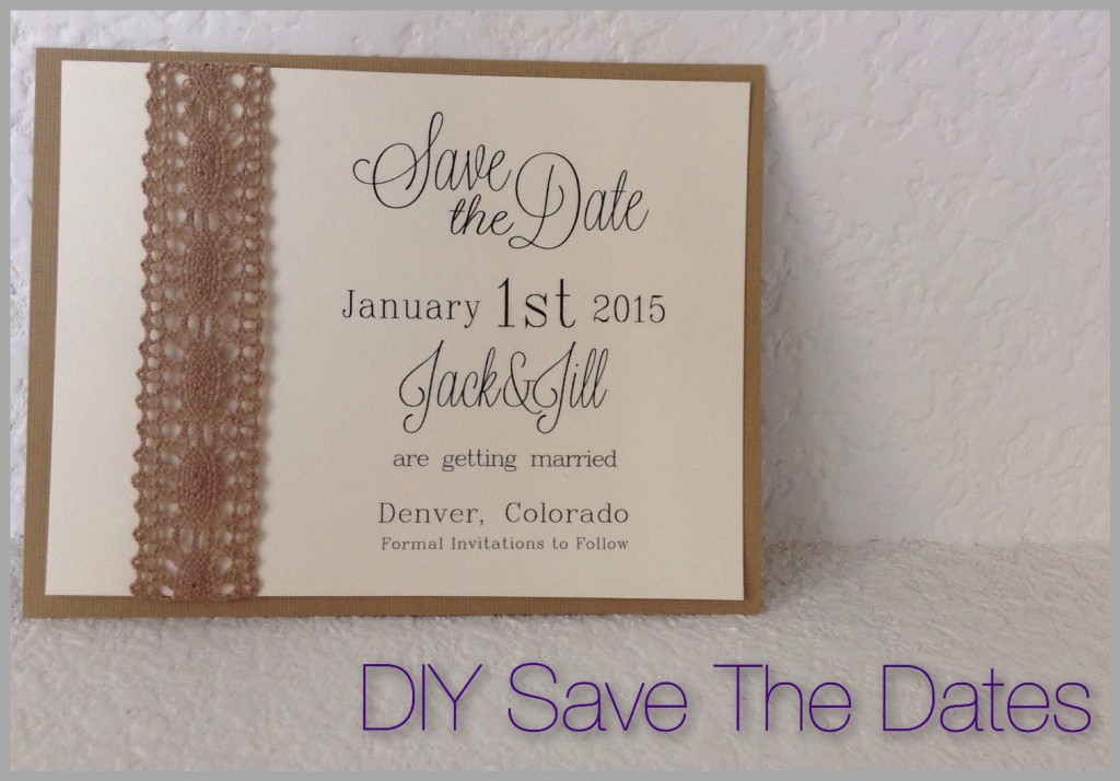 Diy Save The Dates Runaway Teacher