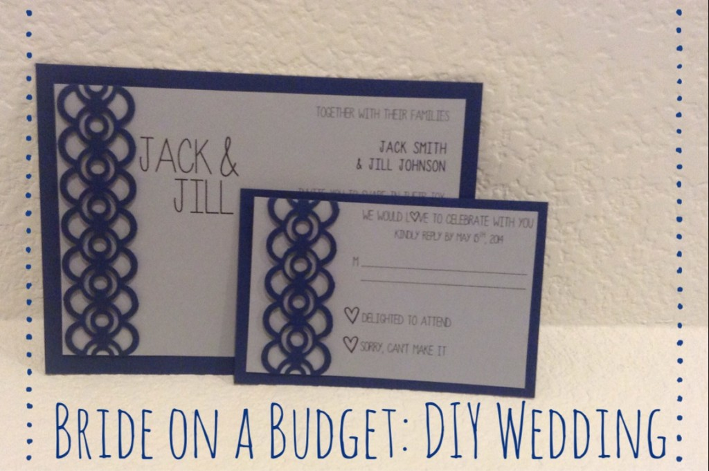 DIY Wedding Invitations and RSVP Cards