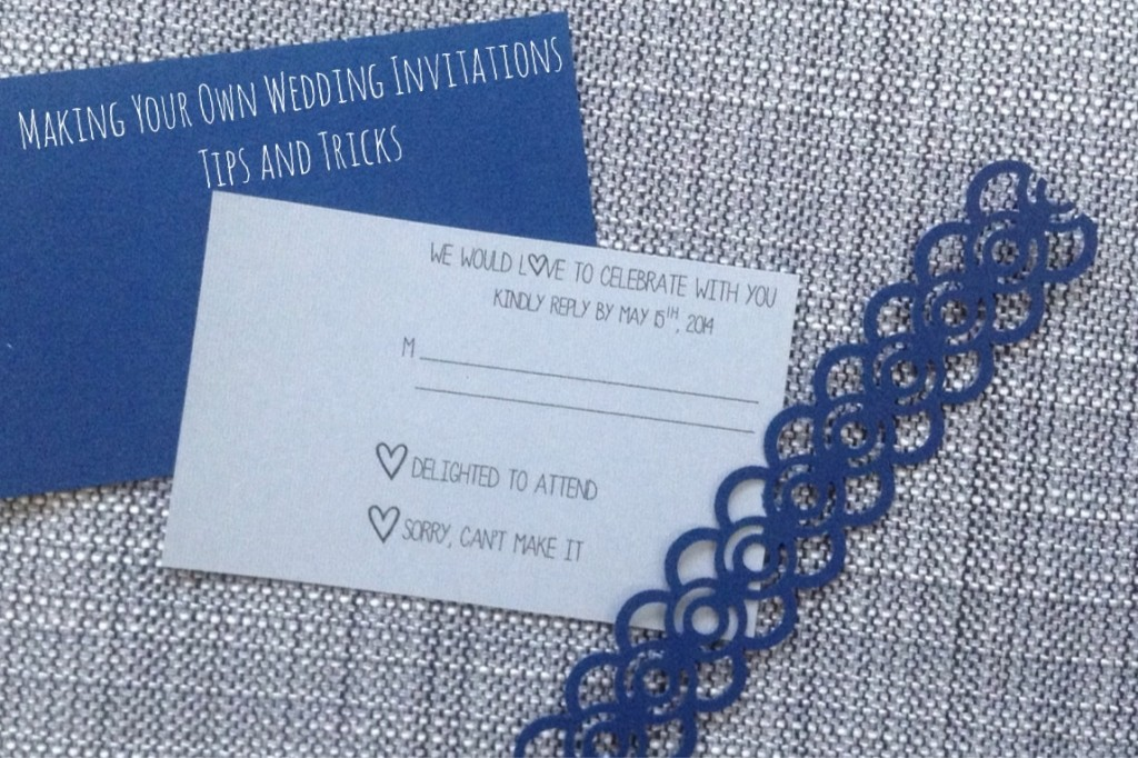 How To Make Own Wedding Invitations: Making Your Own Wedding Invitations