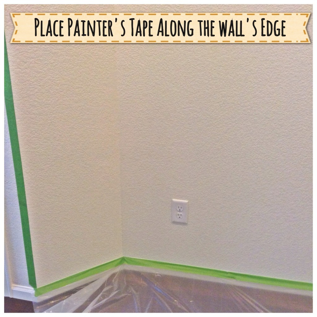 Prepare wall for painting