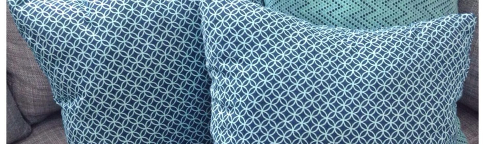 Simple No Sew Pillows