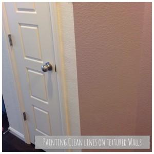 Walls after paint technique