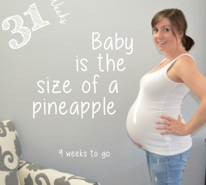 baby bump week to week, week 31