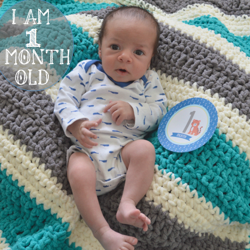 Babys first month
