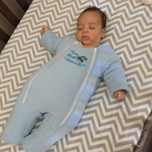 Baby Merlins Magic Sleep Suit