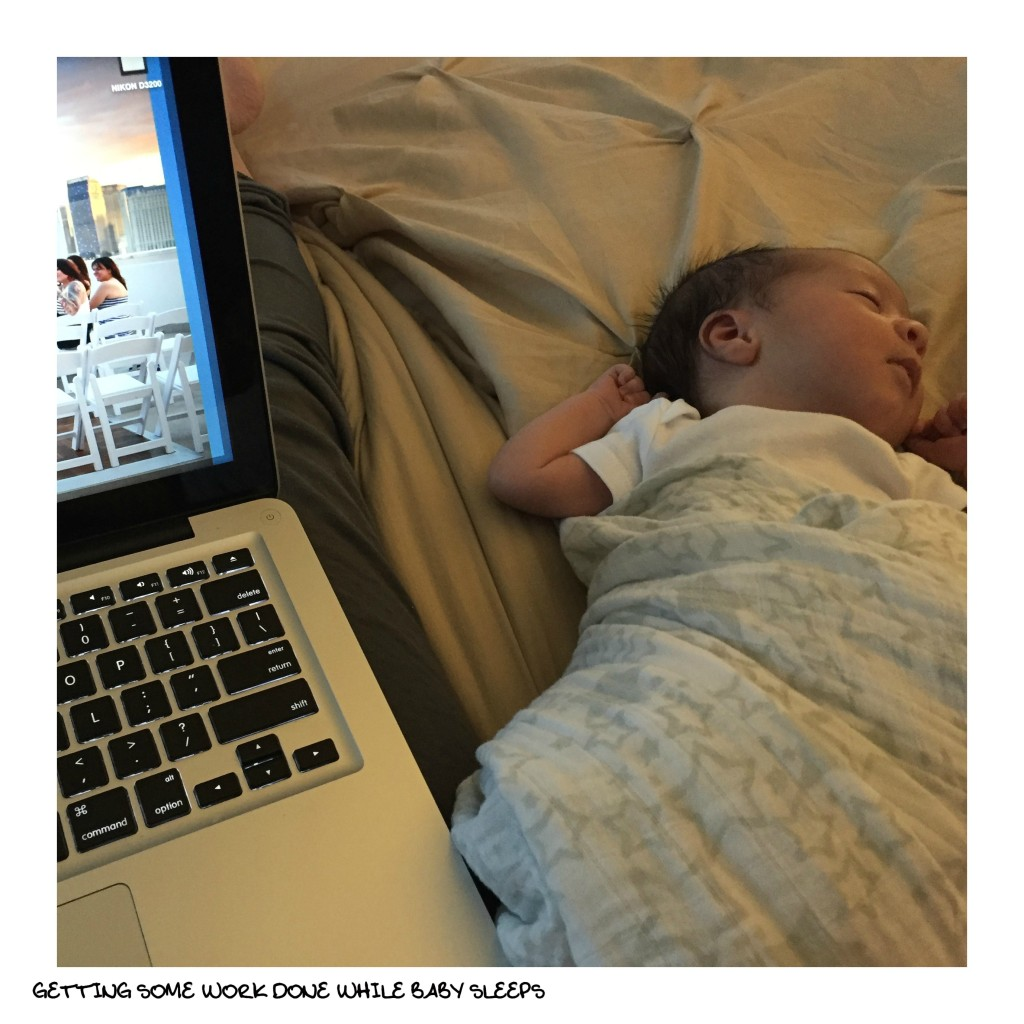 work while baby sleeps