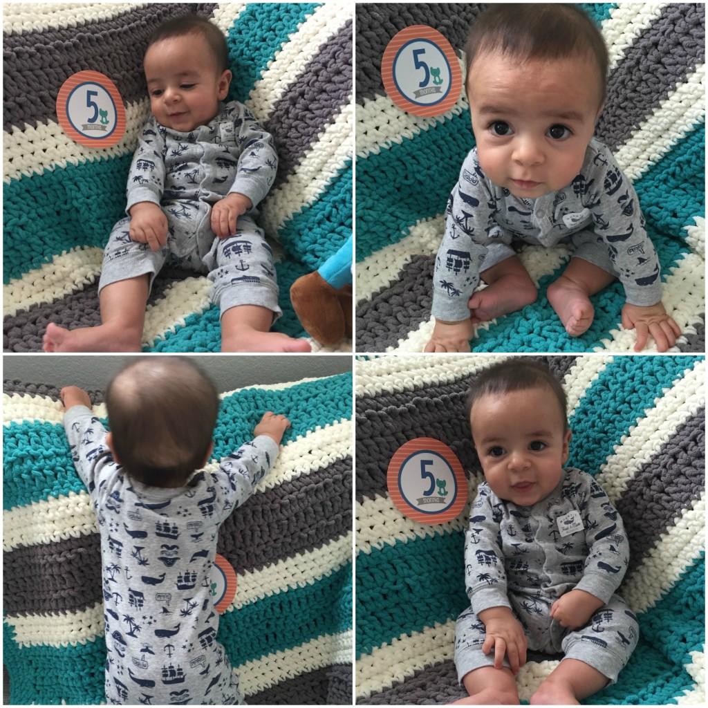 5 months old baby boy
