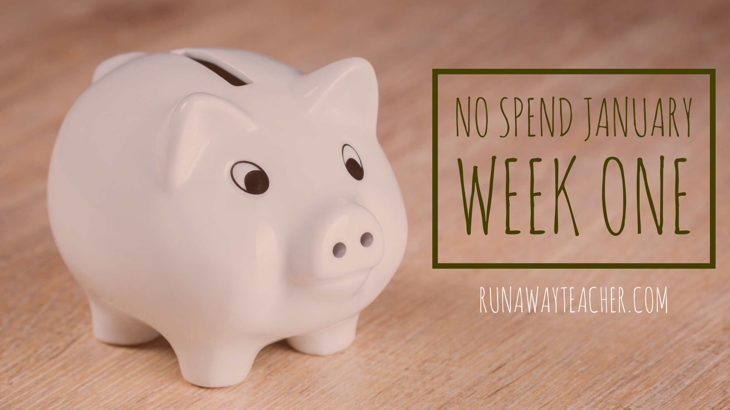 No spend January week 1