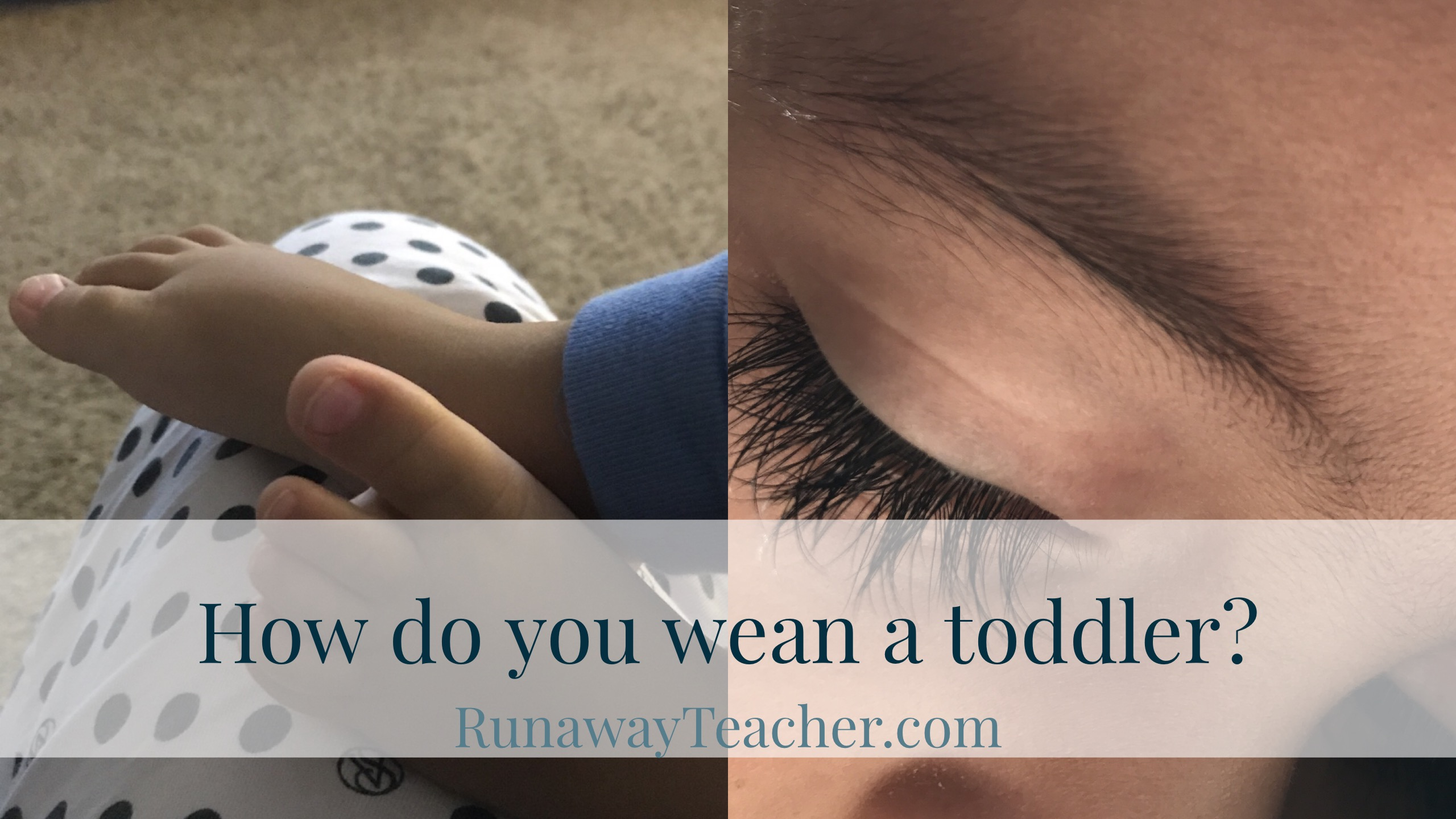 how-to-wean-a-toddler