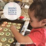 Doing Chores With A Toddler