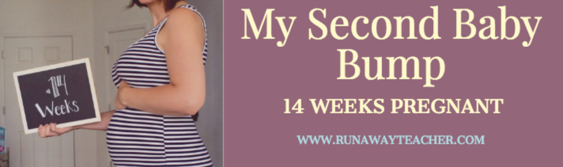 My Second Baby Bump: 14 Weeks Pregnant