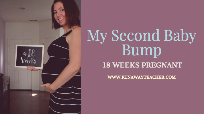 My Second Baby Bump: 18 Weeks