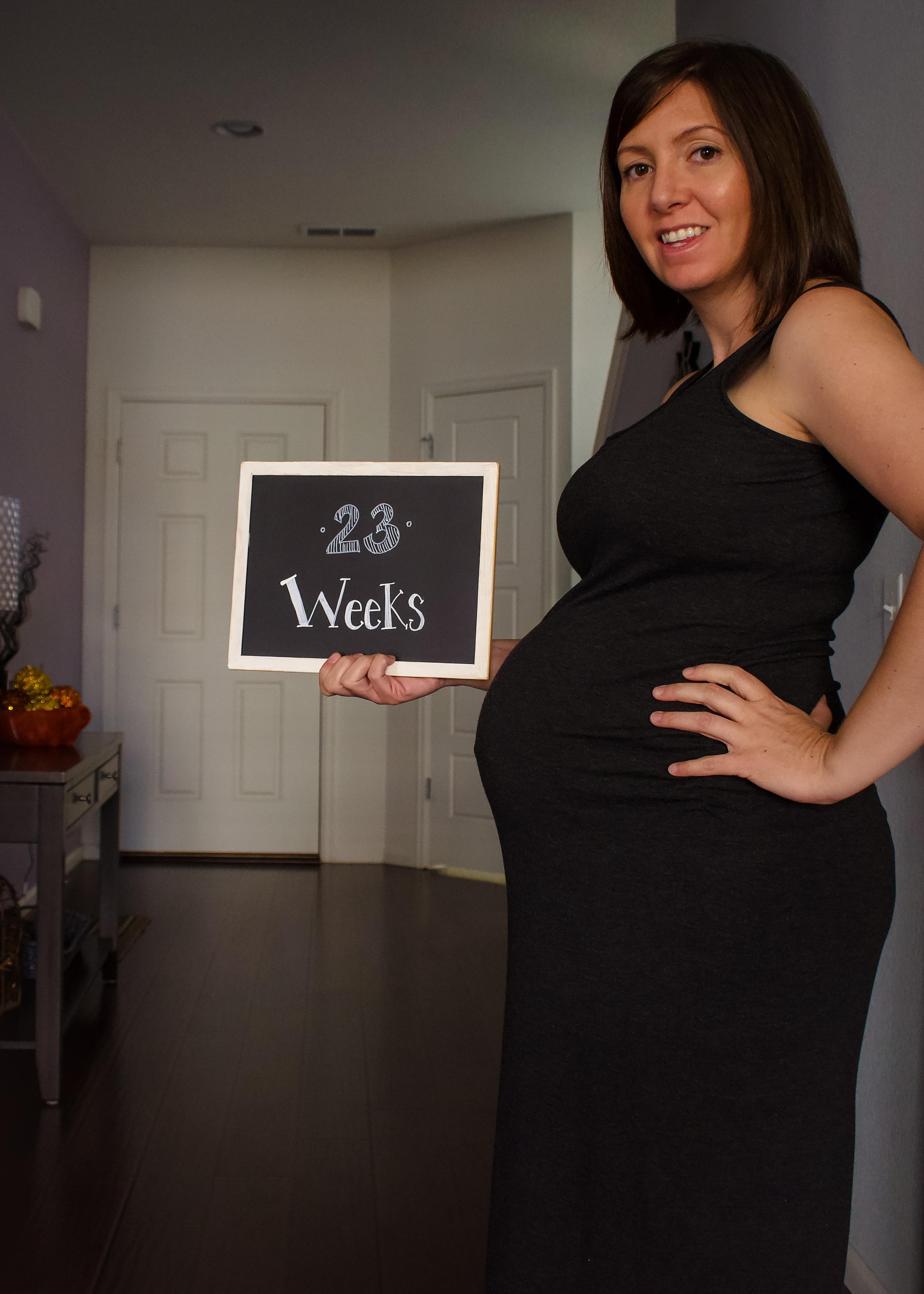 23 weeks pregnant