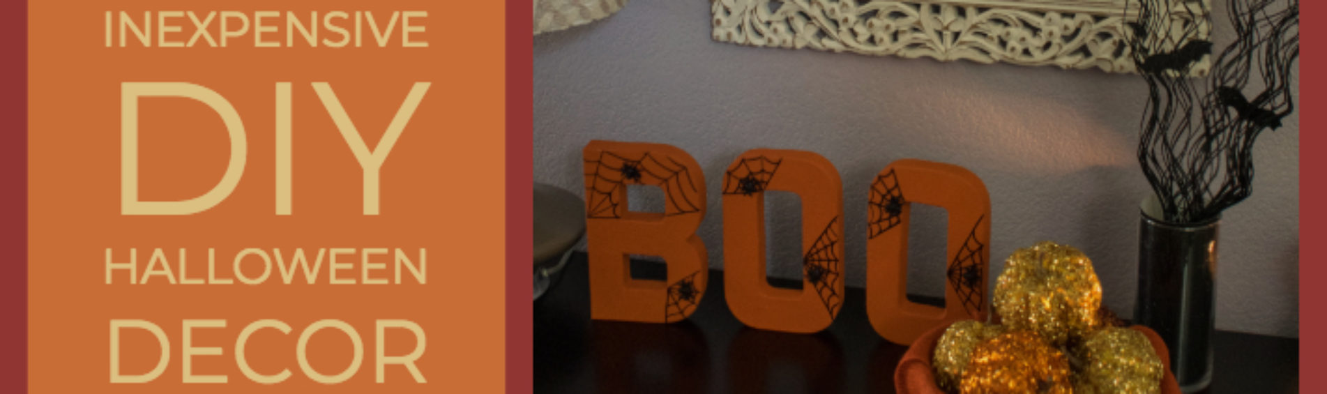 Inexpensive DIY Halloween Decorations